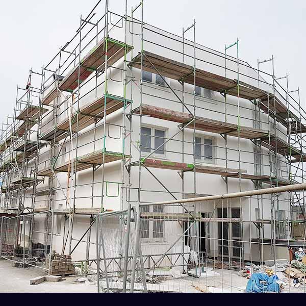 Haus Fassadenarbeiten