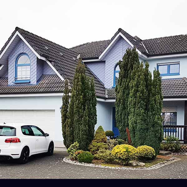 Haus Fassade Stuckateuerarbeiten Ahlen